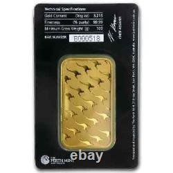 100 gram Gold Bar Perth Mint (In Assay) SKU #78889
