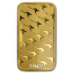 100 gram Gold Bar The Perth Mint (In Assay)