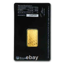 10 gram Gold Bar Perth Mint (In Assay) SKU #57162