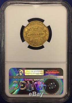 1860 Australia 1sov Sovereign AU50 NGC Gold