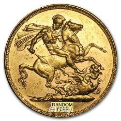 1871-1887-S Australia Gold Sovereign Young Victoria Avg Circ SKU #31864