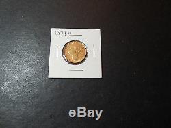 1877-M Australian gold Sovereign (cf266) (g1)
