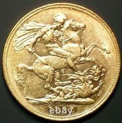 1882 Australia 1 Sovereign