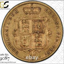 1886m Australian Half Sovereign PCGS graded XF40 Rare keydate coin, huge C/V