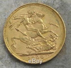 1900-m Australia Gold Victoria Soveriegn