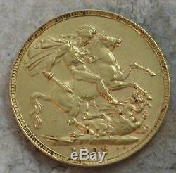 1903-p Australia Gold Soveriegn