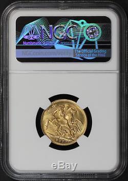 1907M Australia Gold Sovereign NGC MS-63 -171892