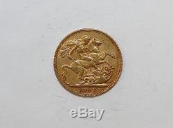 1907 Australia Sovereign Gold Coin