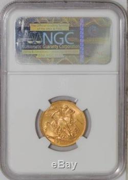 1914M Australia Sovereign #3589885-015 MS63 NGC