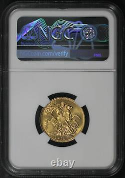 1915S Australia Gold Sovereign NGC MS-63