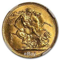 1917-P Australia Gold Sovereign George V MS-62 NGC SKU#171138