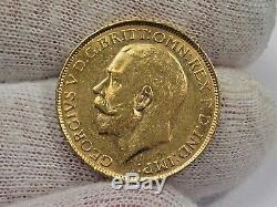 1918-P Full GOLD SOVEREIGN Perth Mint, Australia Coin. AGW. 2355 troy oz. #16