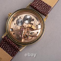 1970 Omega DUNLOP AUSTRALIA 9ct solid gold gents watch 9k vintage