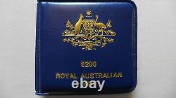 1980 $200 Australian Koala Gold Bullion Coin