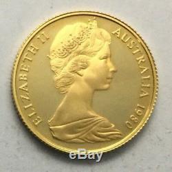 1980 Australia 200 Dollar Koala Bear Gold PROOF #
