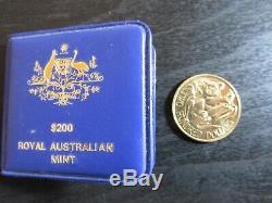 1980 Australia $200 Gold Coin (Koala)