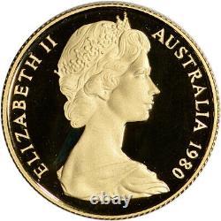 1980 Australia Gold Koala Proof $200 in Royal Australian Mint Capsule