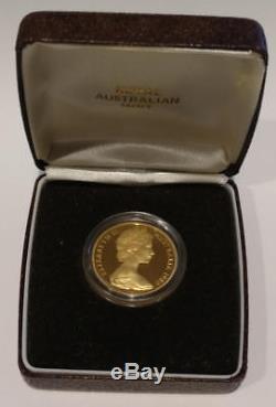 1980 Australia Gold Proof Koala $200. Original Box