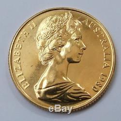 1980 Australian $200 Uncirculated Gold Coin. 22 Carat, 10 Grams