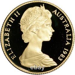 1983 Australia Gold Koala Proof $200 in Royal Australian Mint Capsule