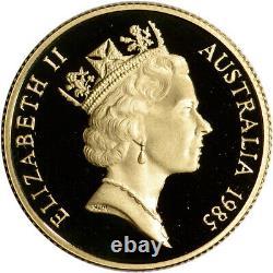 1985 Australia Gold Koala Proof $200 in Royal Australian Mint Capsule