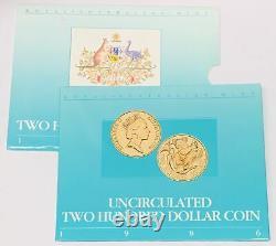 1986 Australia Koala $200 Gold Coin Royal Australian Mint 22 Carat AGW. 2948 BU