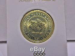 1987 1/10oz. 9999 Gold Australian Little Hero Nugget (Lot of 10 Coins) 1oz Total