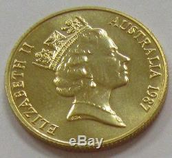 1987 Australian 200 Dollars Gold Proof Arthur Phillip Low Mintage Coin