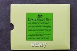 1990 $200 Royal Australian Mint Uncirculated Gold Coin The Pride of Australia