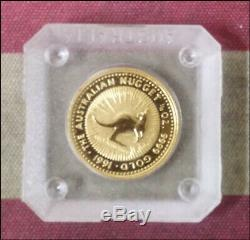 1991 Australia 1/10 ounce GOLD Kangaroo Original Cap CHOICE UNC Beauty! BINo