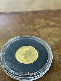 1993 Australian Kangaroo 1/20 oz. 9999 Gold Perth Rare Low Minted