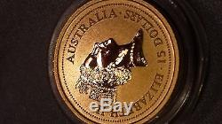1996 1/10 oz Gold Year of the Rat Lunar Coin (Series I) Key Date
