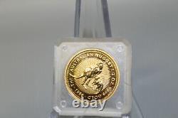 1996 The Australian Nugget 1/2 Oz. 9999 Fine Gold $50 Coin
