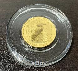 1/10 Oz Australian Gold Kookaburra Gold Coin