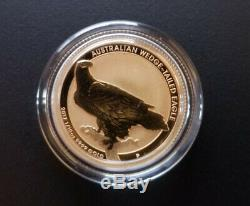 1/10 oz Gold 2017 Perth Australian Wedge-Tailed Eagle Coin Gem BU