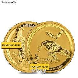 1/10 oz Gold Australian Wedge-Tailed Eagle Perth Mint (Random Year)