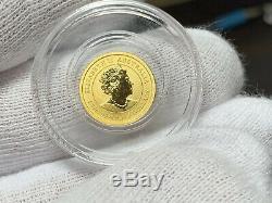 1/20 Oz Australian Lunar Series III Mouse Gold Coin