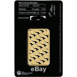 1 Ounce Perth Mint Gold Bar (In Assay Certificate)