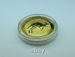 1 oz Fine Gold. 9999 AUSTRALIAN KANGAROO $100 COIN 2017 P Brilliant Uncirculated