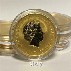 1 oz Gold Australian Kangaroo. 9999 Gold Coin by Perth Mint Random Year