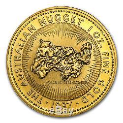 1 oz Gold Australian Kangaroo/Nugget Coin Random Year Coin SKU #14