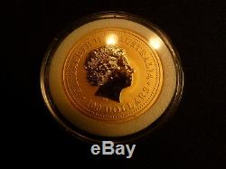 1oz Gold Coin 2000 Lunar Year of the Dragon Proof Perth Mint, Australia