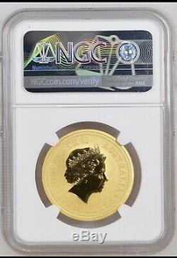2000 1 oz Australian Gold Lunar Year of The Dragon NGC MS70 Perth Mint Top Pop