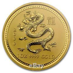 2000 1 oz Gold Lunar Year of the Dragon MS-69 NGC (Series I) SKU#73728