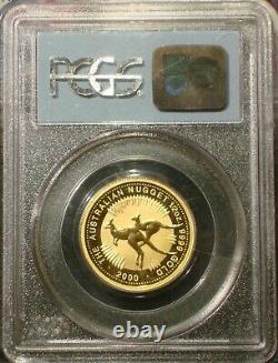2000 $50 1/2 oz AUSTRALIAN KANGAROO WTC GOLD 911 GROUND ZERO RECOVERY PCGS