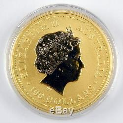 2000 Australia $100 Lunar Year of the Dragon 1 Oz Gold. 9999 Unc Coin #A0172