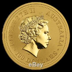 2000 Australia 1 oz Gold Lunar Dragon BU (Series I) SKU #4760