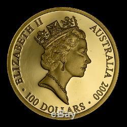 2000 Australia 8-Coin Gold Sydney Olympics Proof Set SKU#182182