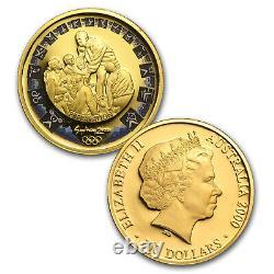 2000 Australia 8-Coin Gold Sydney Olympics Proof Set SKU #58659