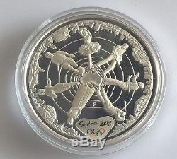 2000 Australian Olympics $100 Proof Gold Coin THREE COIN SET KM443/438/441